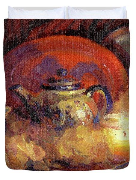 Polish Pottery  Duvet Cover