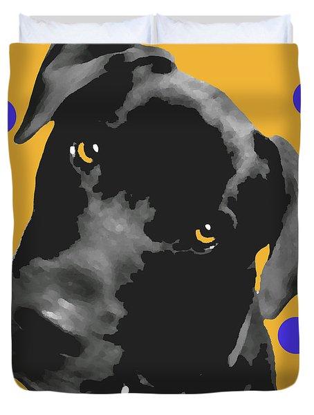 Polka Dot Duvet Cover by Amanda Barcon