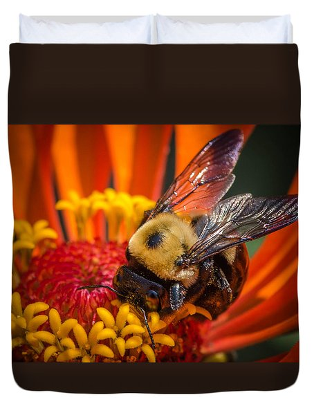 Pollen Plenty Duvet Cover