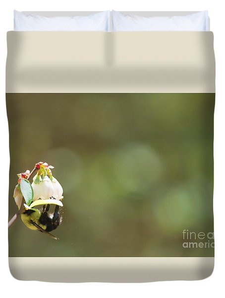 Pollination Duvet Cover by Kim Henderson
