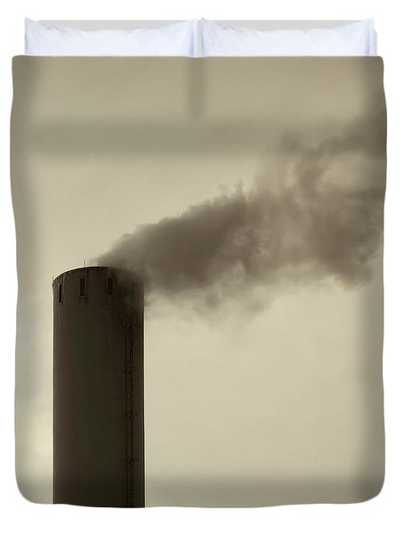 Pollution Duvet Cover