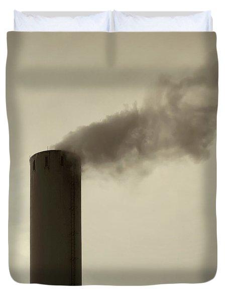 Pollution Duvet Cover