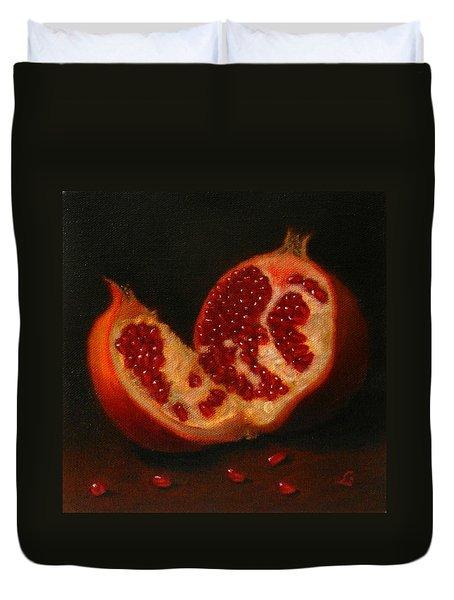 Pomegranate, Peru Impression Duvet Cover