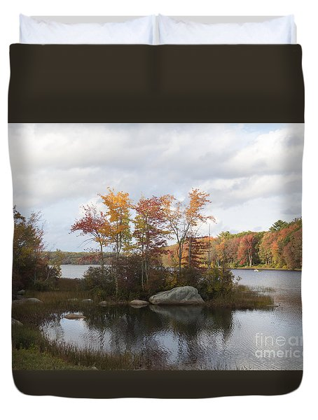 Ponaganset Autumn 2015 Duvet Cover