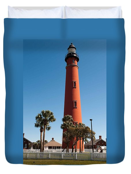 Ponce De Leon Inlet Light Duvet Cover