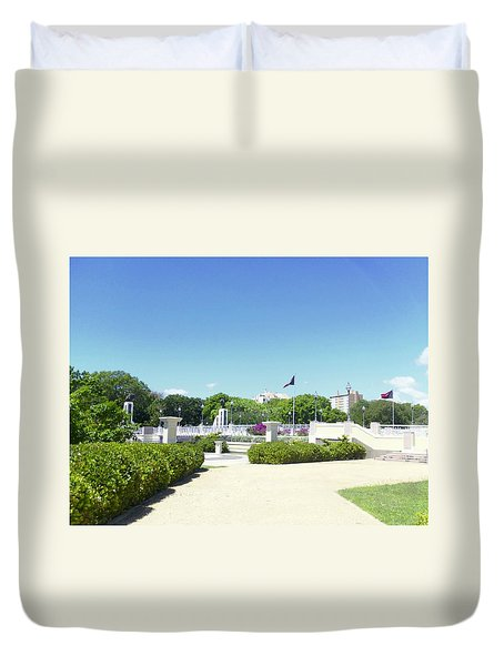 Ponce's Ecological Park Duvet Cover