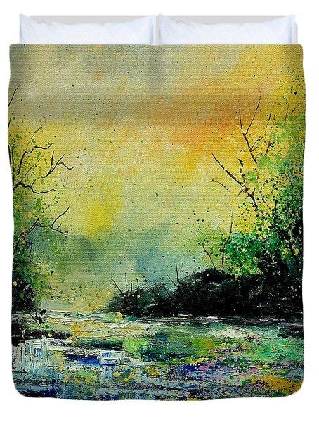 Pond 459060 Duvet Cover by Pol Ledent