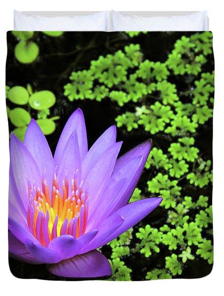 Pond Beauty Duvet Cover