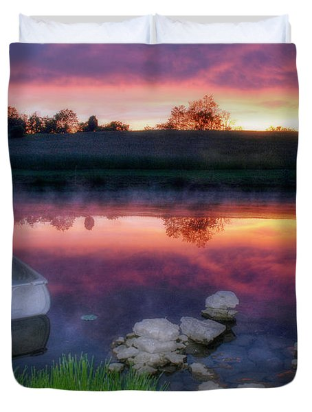 Pond Dreams 9 Duvet Cover