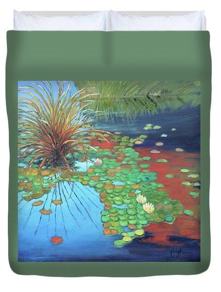 Pond Duvet Cover by Gary Coleman