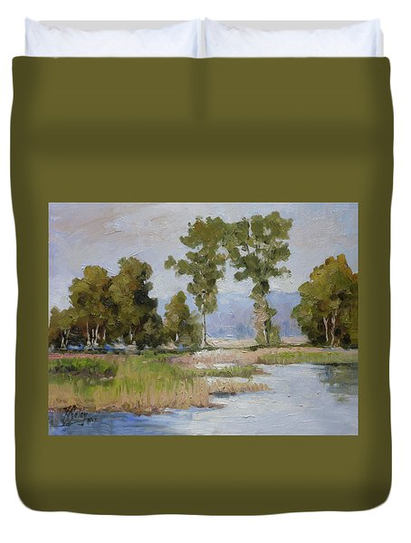 Pond In The Woods 2 Duvet Cover