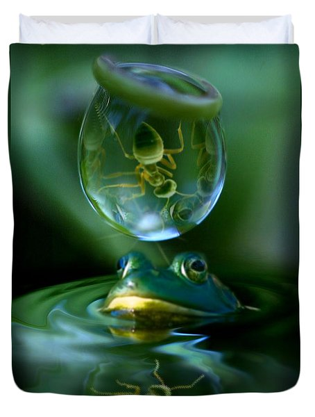 Pond Life Duvet Cover