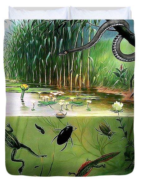 Pond Life Duvet Cover