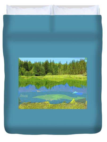Pond Duvet Cover
