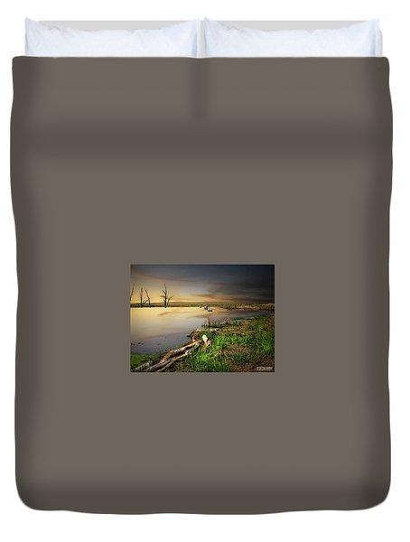 Pond Shore Duvet Cover
