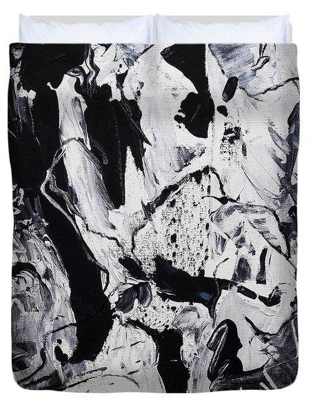 Duvet Cover featuring the photograph Ponderosity by Lynda Lehmann