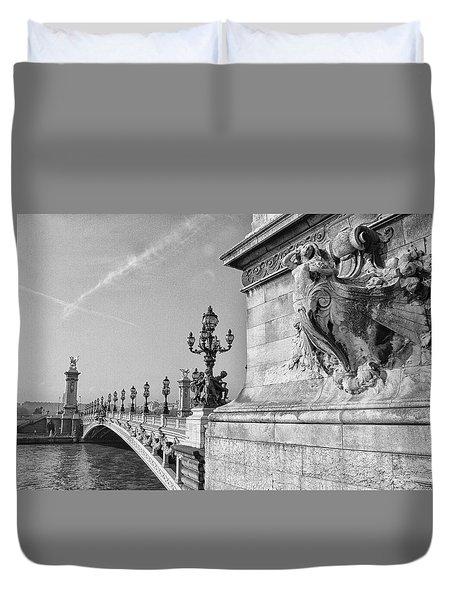 Pont Alexandre Duvet Cover