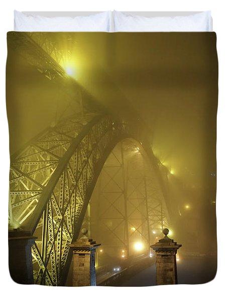Ponte D Luis I Duvet Cover