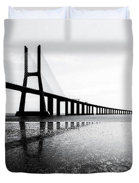 Ponte Vasco Da Gama Duvet Cover
