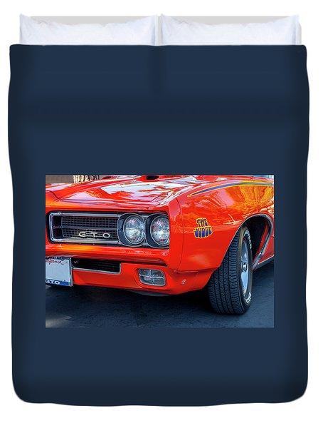 Pontiac G T O Judge 1969 Convertible Duvet Cover