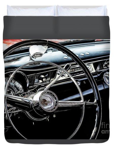 Duvet Cover featuring the photograph Pontiac Gto by Brad Allen Fine Art