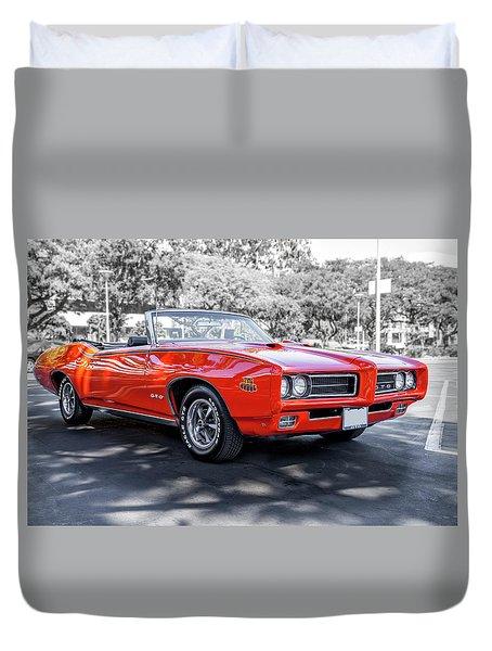 Pontiac G T O Judge Convertible Duvet Cover