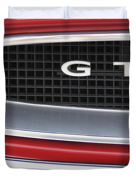 Pontiac Gto  Duvet Cover by Mike McGlothlen