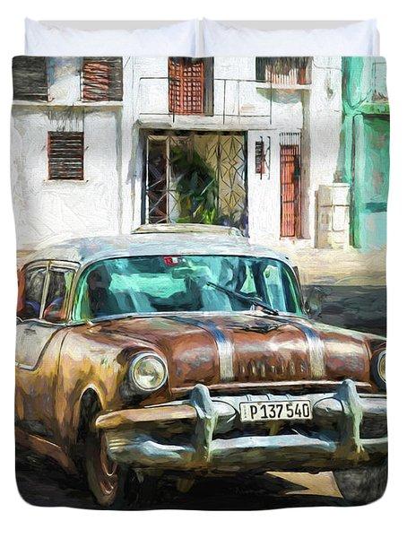 Pontiac Havana Duvet Cover