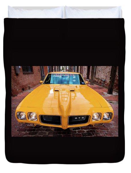 Pontiac Muscle Duvet Cover