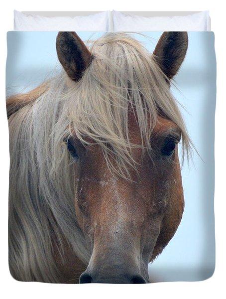 Pony Portrait Duvet Cover