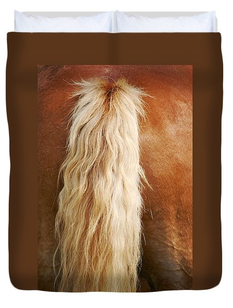 Pony Tail Duvet Cover