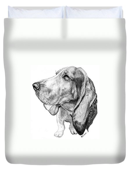 Pooch Duvet Cover by Mike Ivey