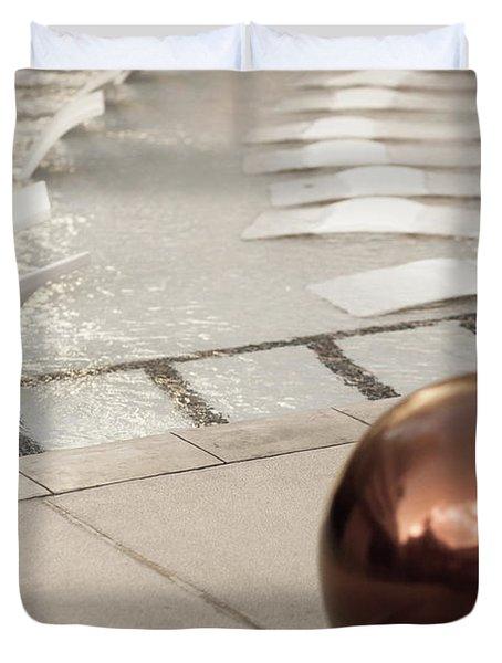 Pool Ball Duvet Cover