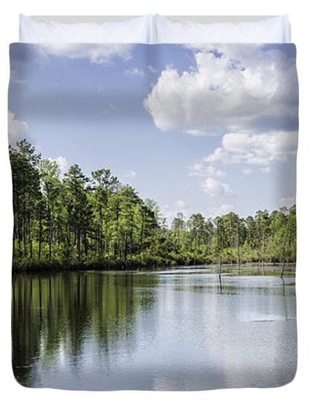Pool H Panorama 02 Duvet Cover