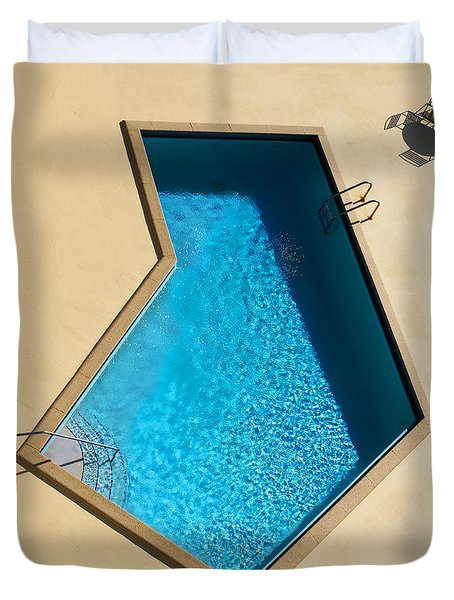 Pool Modern Duvet Cover