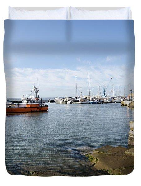 Poole Harbour Duvet Cover