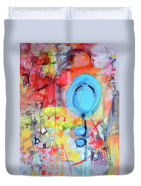 Pools Of Calm Duvet Cover