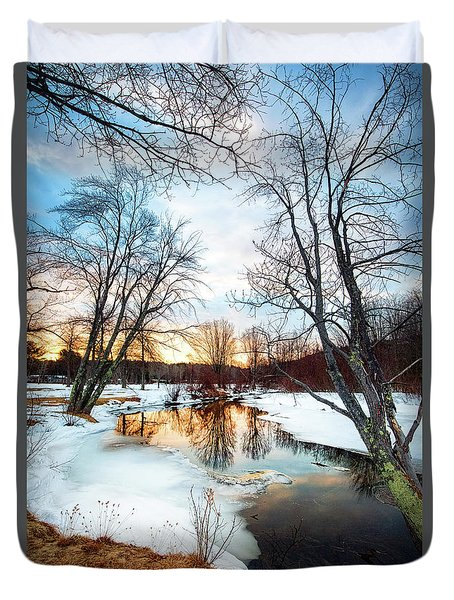 Poor Farm Brook Duvet Cover