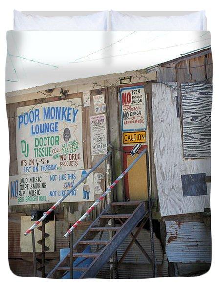 Poor Monkey's Lounge Duvet Cover