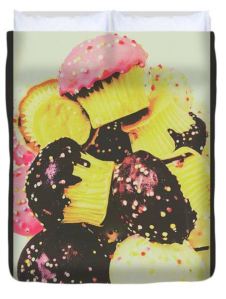 Pop Art Bake Duvet Cover