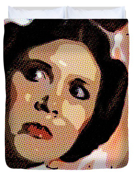 Pop Art Princess Leia Organa Duvet Cover