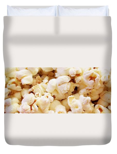 Popcorn 2 Duvet Cover by Martin Cline