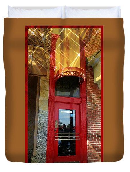 Popcorn Shoppe Duvet Cover