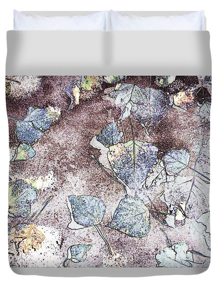 Poplar Leaf Path Duvet Cover