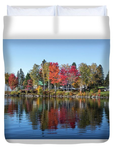 Popping Colors Duvet Cover