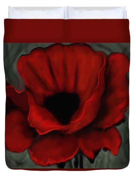 Poppy Close Up Duvet Cover