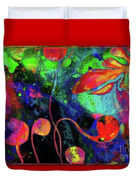 Poppy Enchantment Duvet Cover