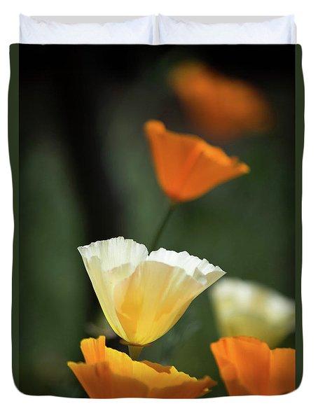 Poppy Glow Duvet Cover