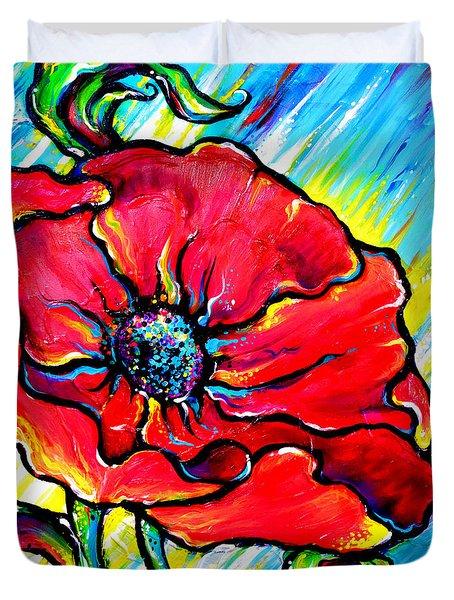 Poppy II Duvet Cover