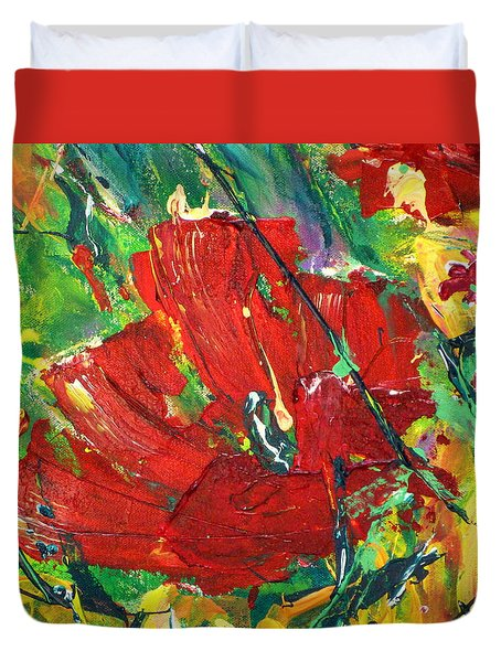 Poppy II Duvet Cover